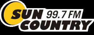 CFXO-FM - Image: CFXO Sun Country 99.7 logo