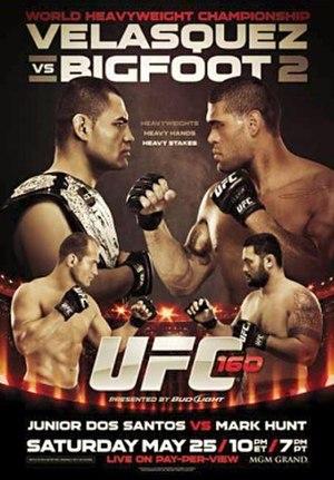 UFC 160 - Image: Cain Big Foot II