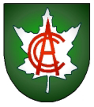 Cricket Canada - Original CCA logo, used before 2008.