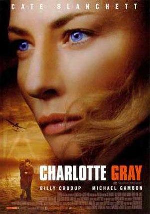 Charlotte Gray (film) - UK cinema poster