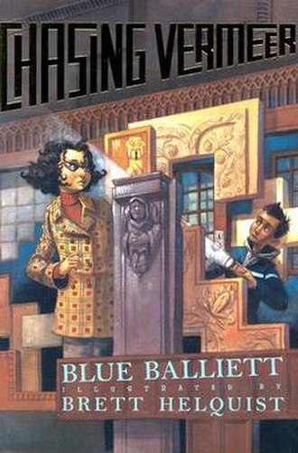Chasing Vermeer - First US edition cover