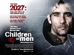 Children of Men - Theatrical release poster