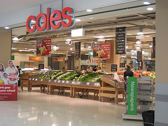 Coles Supermarkets - Image: Coles Dee Why