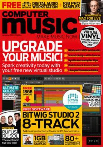 Computer Music (magazine) - Image: Computer Music December 2018 cover