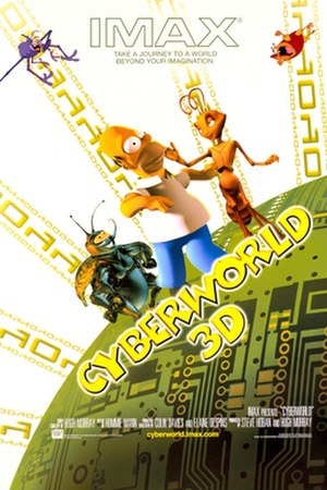 CyberWorld - Theatrical release poster