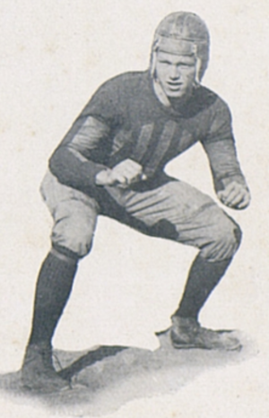 Cy Williams (American football) - Williams at Florida, 1923