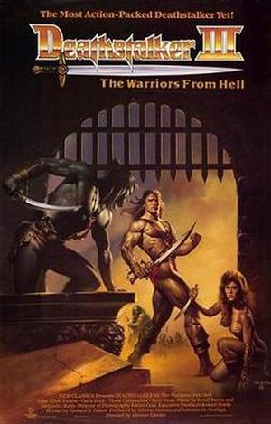 Deathstalker and the Warriors from Hell - Image: Deathstalker 3