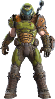 Doomguy Fictional character from the Doom video game series