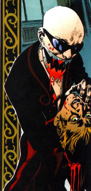 Chase (comics) - Dr. Trap kills the Acro-Bat