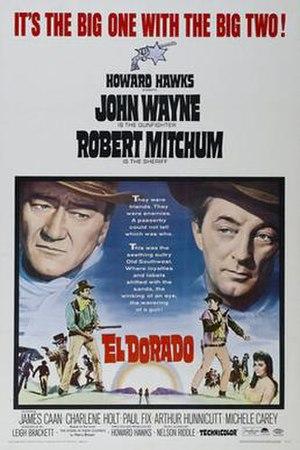 El Dorado (1966 film) - Theatrical release poster