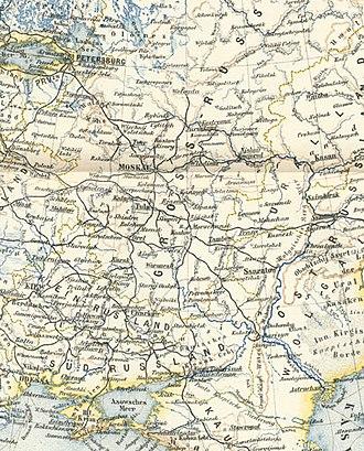 Little Russia - Image: Europaisches russland fragment