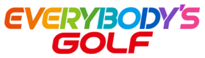 Everybody's Golf - The series logo from 2017
