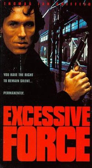 Excessive Force (film) - Film Poster