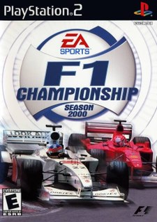 <i>F1 Championship Season 2000</i> 2000 video game