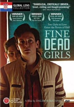 Fine Dead Girls - English-language DVD cover released by the Global Film Initiative