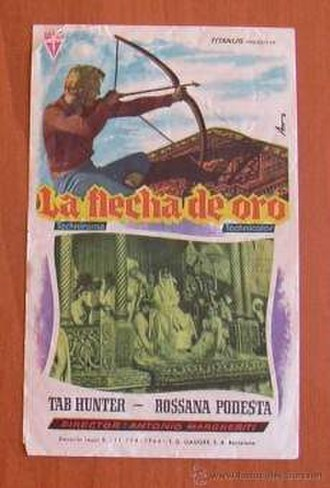 Flecha de oro - Spanish film poster of the film