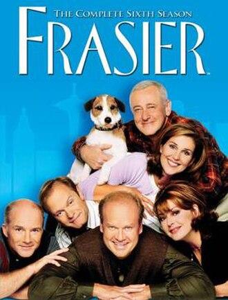 Frasier (season 6) - DVD cover