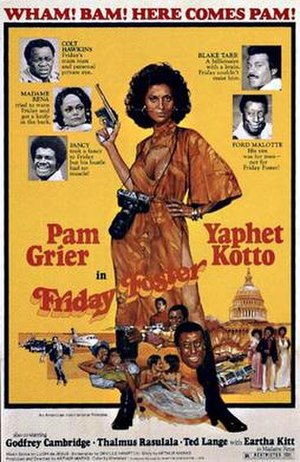 Friday Foster (film) - Film poster