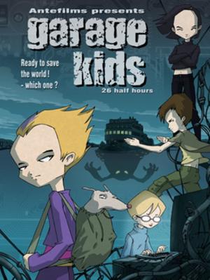 Code Lyoko - Original promotional poster for Garage Kids