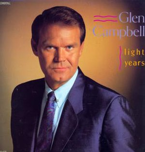 Light Years (Glen Campbell album) - Image: Glen Campbell Light Years album cover