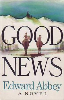 Good News (Edward Abbey novel - cover art).jpg
