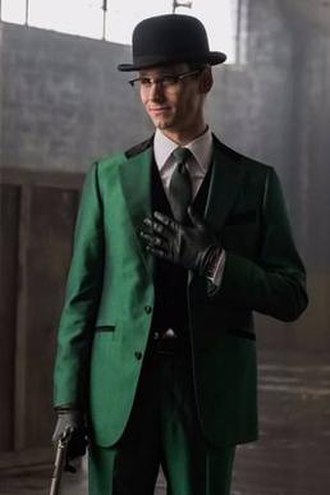 Riddler - Cory Michael Smith as The Riddler on the TV series Gotham.
