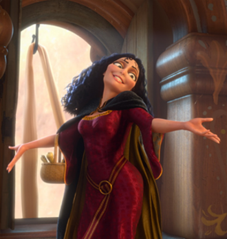 Mother Gothel - Mother Gothel as she appears in Tangled (2010).