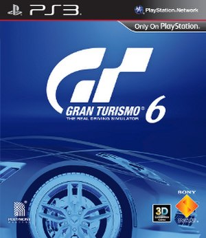 Gran Turismo 6 - Official box art featuring 2014 Chevrolet Corvette Stingray C7