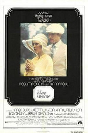 The Great Gatsby (1974 film) - Theatrical release poster