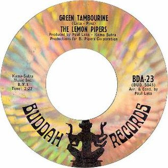 Green Tambourine - Image: Green Tambourine by The Lemon Pipers US vinyl
