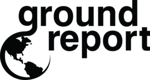 Logo of GroundReport, which offers world news ...