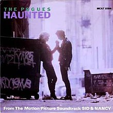 Haunted (The Pogues single - cover art).jpg