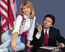 Markie Post Jumping On Bed In The White House