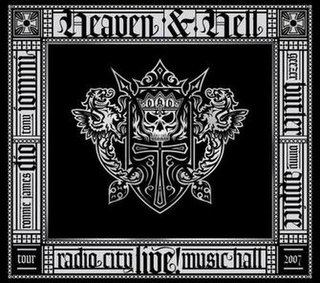 <i>Live from Radio City Music Hall</i> 2007 live album by Heaven & Hell