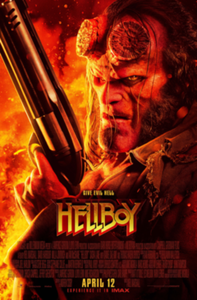 Picture of a movie: Hellboy