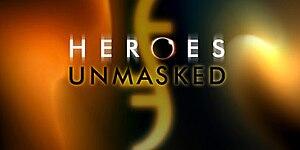 Heroes Unmasked - Image: Heroes unmasked logo