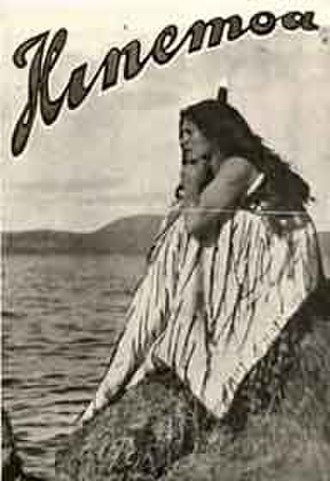 Cinema of New Zealand - A promotional still for the 1914 film Hinemoa.