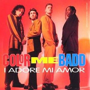 I Adore Mi Amor - Image: I Adore Mi Amor CMB