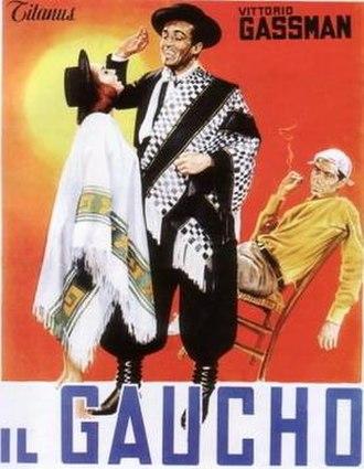 Il Gaucho - Image: Il Gaucho poster