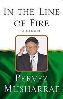 <i>In the Line of Fire: A Memoir</i> book by Pervez Musharraf