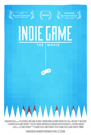 Indie Game: The Movie - Image: Indie Game The Movie poster