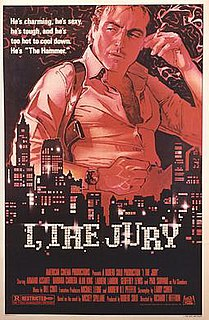 <i>I, the Jury</i> (1982 film) 1982 film by Richard T. Heffron