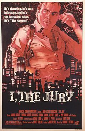 I, the Jury (1982 film) - Theatrical poster
