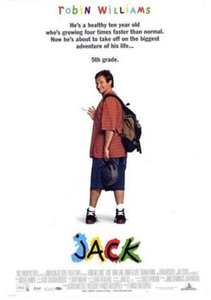 Jack (1996 film) - Theatrical release poster