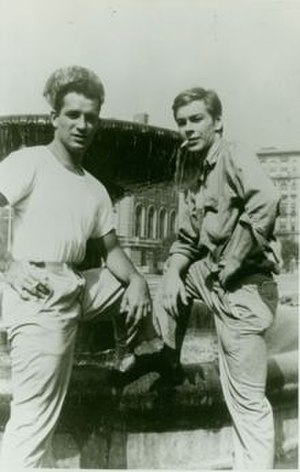 Lucien Carr - Jack Kerouac and Lucien Carr (right), 1944