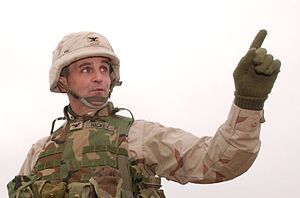James Hickey (soldier) - Colonel James B. Hickey, explaining Operation Red Dawn to reporters, December 2003