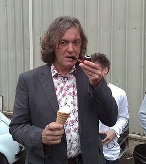 English: James May at a recording of Top Gear....