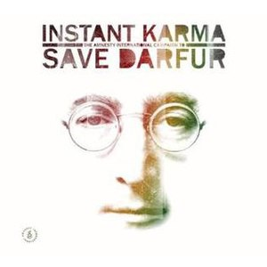 Instant Karma: The Amnesty International Campaign to Save Darfur - Image: John Lennon Darfur v 2