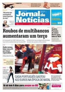 <i>Jornal de Notícias</i> Daily newspaper in Porto, Portugal