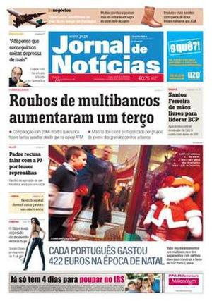 Jornal de Notícias - Image: Jornal De Noticias 20071127